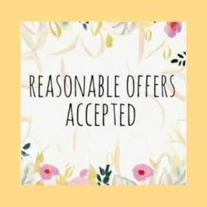 ***All reasonable offers will be considered***